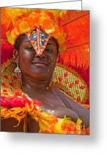 Dc Caribbean Carnival No 24 Greeting Card by Irene Abdou