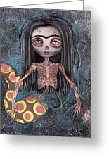 Dead In The Flesh Greeting Card by Abril Andrade Griffith