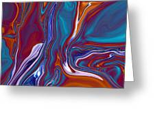 Dead Tree Abstract2 Greeting Card by Linnea Tober