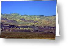 Death Valley - Land Of Extremes Greeting Card by Christine Till