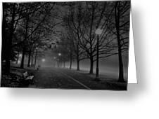 December Morning In Riverfront Park - Spokane Washington Greeting Card by Daniel Hagerman