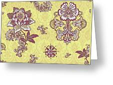 Deco Flower Yellow Greeting Card by JQ Licensing