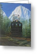 Deep In The Cascades Greeting Card by Christopher Jenkins