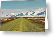 Dempster Highway - Yukon Greeting Card by Juergen Weiss