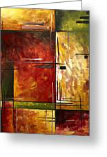 Depth Of Emotion By Madart Greeting Card by Megan Duncanson