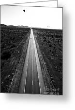 Desert Road Greeting Card by Scott Pellegrin
