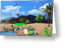 Desert Splendor Greeting Card by Snake Jagger