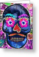 Dia De Los Muertos Greeting Card by Dolly Sanchez