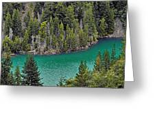 Diabolo Lake North Cascades Np Wa Greeting Card by Christine Till
