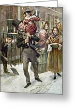 Dickens: A Christmas Carol Greeting Card by Granger