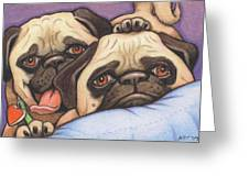 Did Someone Say Cookie Greeting Card by Amy S Turner