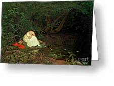 Disappointed Love Greeting Card by Francis Danby