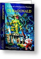 Dj Macdonald Book Cover Greeting Card by Hanne Lore Koehler