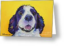 Dolly Greeting Card by Pat Saunders-White