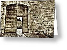 Door To Salvation Greeting Card by Paul Topp
