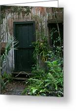 Door To The Past Greeting Card by Ze DaLuz