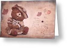 Dorothy In Love Greeting Card by Angela Doelling AD DESIGN Photo and PhotoArt