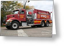 Downs Tanker 38 Greeting Card by Roger Look