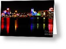 Downtown Disney Greeting Card by David Lee Thompson