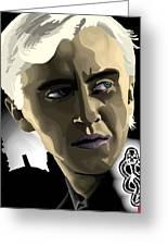 Draco Greeting Card by Lisa Leeman