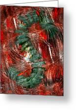 Dragon Fire Greeting Card by Nancy TeWinkel Lauren