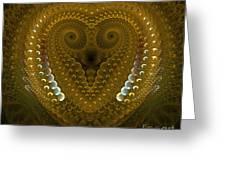 Dragonheart Greeting Card by Sandra Bauser Digital Art