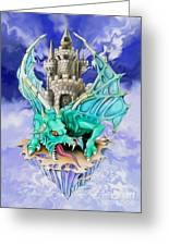 Dragons Keep By Spano Greeting Card by Michael Spano