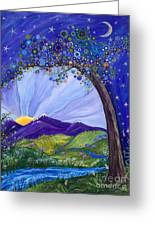 Dreaming Tree Greeting Card by Tanielle Childers