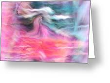Dreamscapes Greeting Card by Linda Sannuti