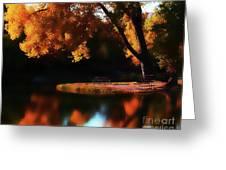 Dreamy Afternoon Greeting Card by Terril Heilman