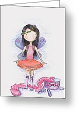 Dressing Up Greeting Card by Sarah LoCascio