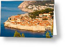 Dubrovnik Old City Greeting Card by Thomas Marchessault