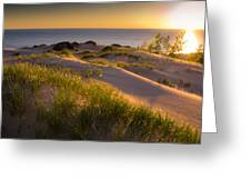 Dunes Greeting Card by Jason Naudi Photography