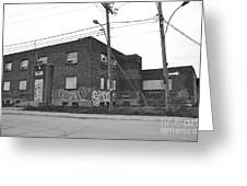 Dunn Street Montreal Greeting Card by Reb Frost
