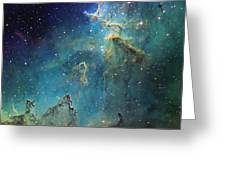 Dust Columns As Part Of The Melotte 15 Greeting Card by Don Goldman