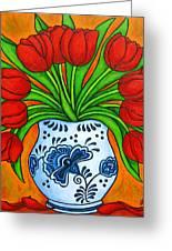 Dutch Delight Greeting Card by Lisa  Lorenz