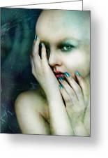 Dysthymia Greeting Card by Mary Hood