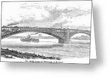 EADS BRIDGE, ST LOUIS Greeting Card by Granger