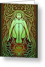 Earth Spirit Greeting Card by Cristina McAllister