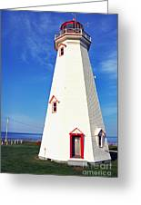 East Point Lightstation Pei Greeting Card by Thomas R Fletcher