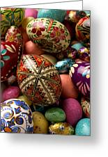 Easter Eggs Greeting Card by Garry Gay