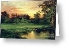 Easthampton Greeting Card by Thomas Moran