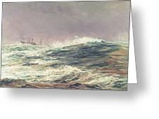 Ebb Tide Greeting Card by William Lionel Wyllie