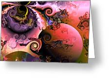 Ebullient Color Greeting Card by Claude McCoy