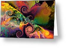 Edge Of Encounter Greeting Card by Claude McCoy