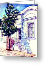 Elegance And Modesty Greeting Card by Estela Robles