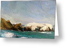 Elephant Rock II Greeting Card by Thomas Glass Phinnessee