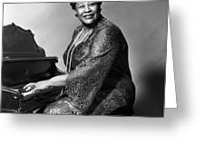 ELLA FITZGERALD (1917-1996) Greeting Card by Granger