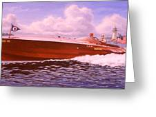Elusive Greeting Card by Richard De Wolfe
