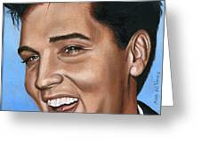Elvis 24 1960 Greeting Card by Rob De Vries